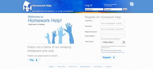 Live homework help online